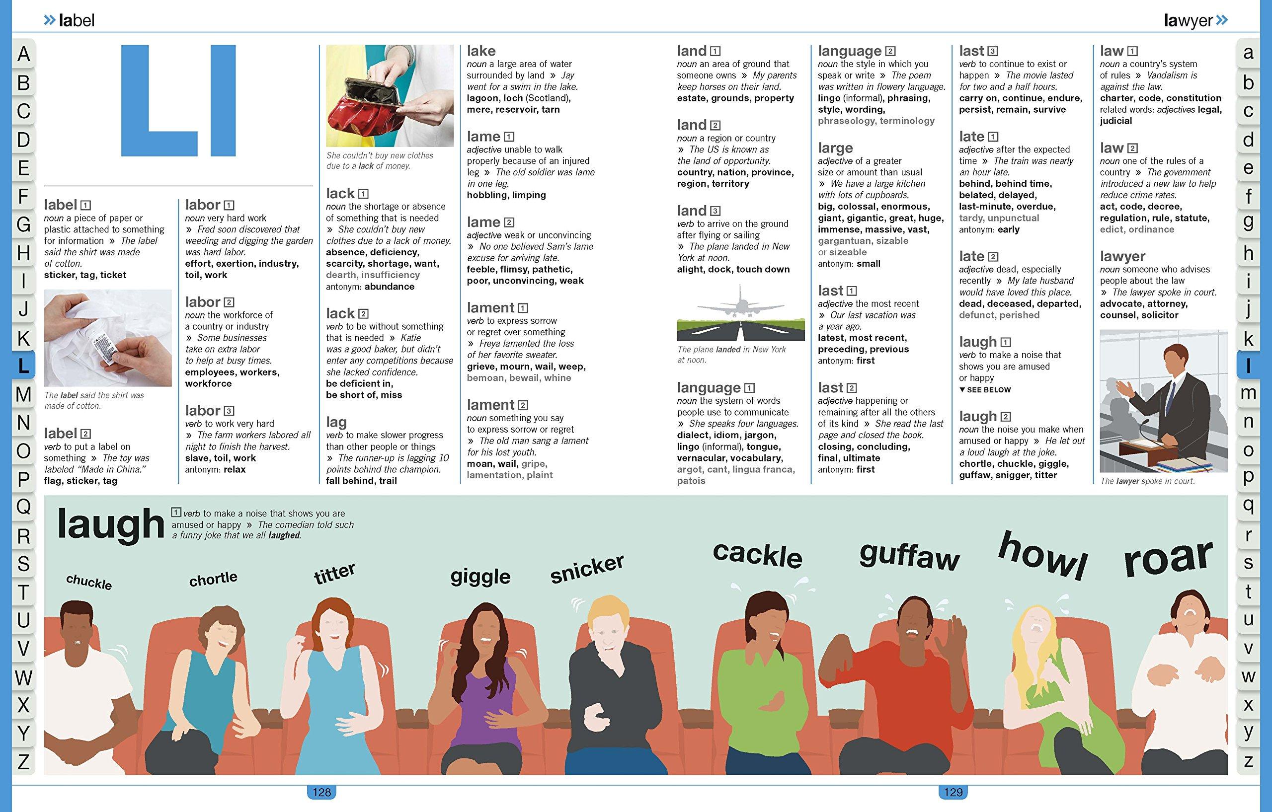 Children's Illustrated Thesaurus: DK: 9781465462374: Amazon com: Books