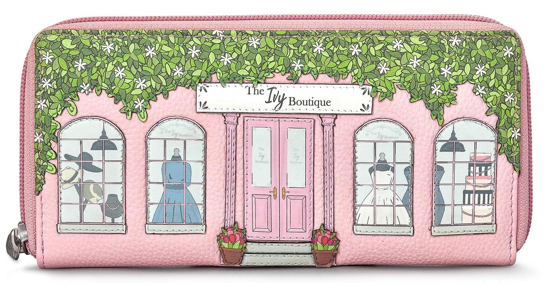 Ivy Boutique Yoshi - Monedero Redondo de Piel auténtica con ...