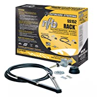 Dometic SeaStar NFB (No Feedback) Pro Rack Steering Kit with Dual Cables, SS15212, 12ft.