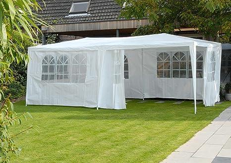 Partytent Tienda de Fiesta tienda de campaña carpa pabellón 3 x 6 x 2,5 m jardín