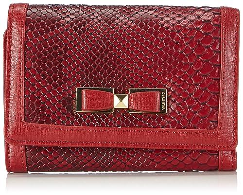 Valentino VANITAS - Monedero para mujer, color rojo, talla ...