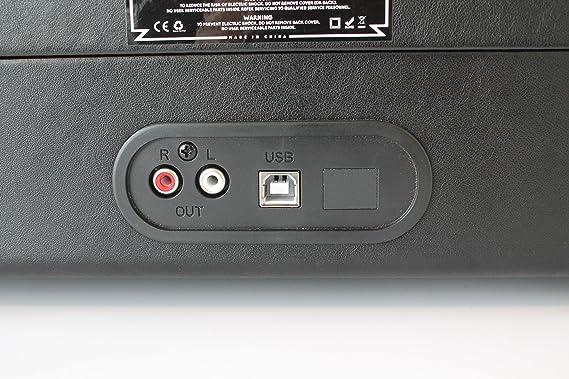 Tocadiscos Groove Denim GS1000: Amazon.es: Electrónica
