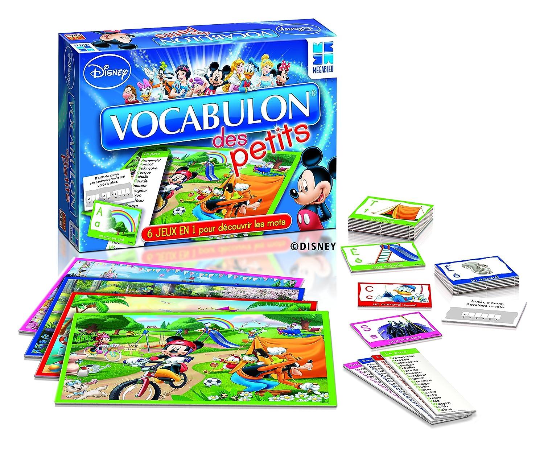 Megableu - 678 092 - Vocabulon Des Petits Disney