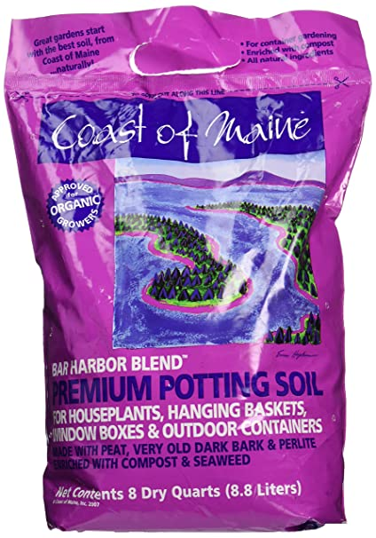 Coast of Maine Organic Potting Soil