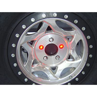 Delta Lights (01-6581-50) Lug-NUT-LITE Universal Waterproof LED 3rd Brakes Light for Spare Tire: Automotive