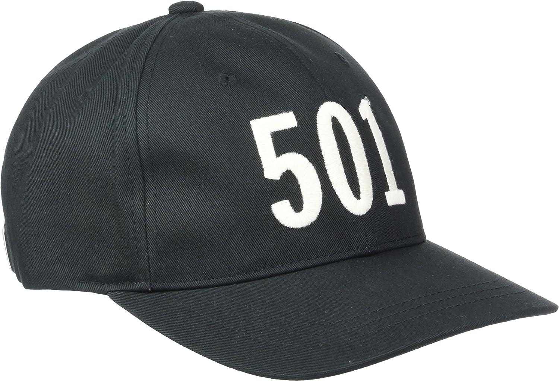 Levis 501 Basseball, Gorra de béisbol Hombre, Negro (Black ...