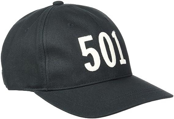 9476ff56d9c741 Levi's Men's 501 Basseball Baseball Cap, Black, One size: Amazon.co ...