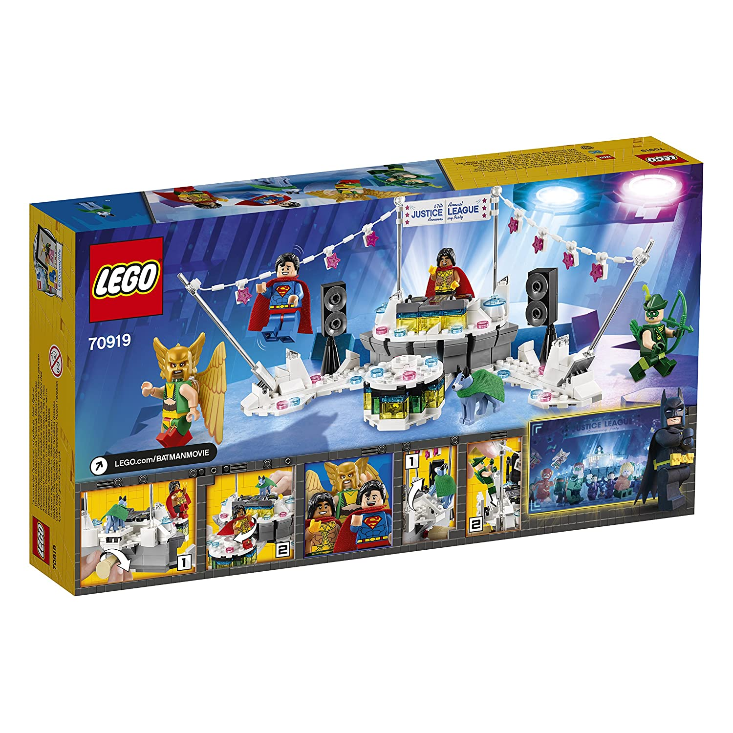 sh461 NEW LEGO HAWKGIRL FROM SET 70919 JUSTICE LEAGUE