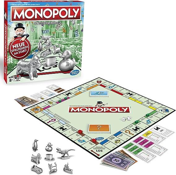 Hasbro Gaming C1009156 – Monopoly Classic versión austriaca Juego Familiar: Amazon.es: Juguetes y juegos
