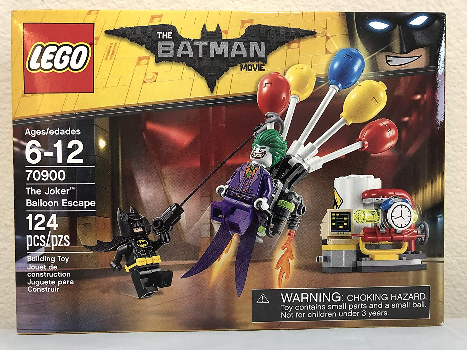 Lego Batman Movie Catwoman Catcycle Chase Bundle with The Joker Balloon Escape