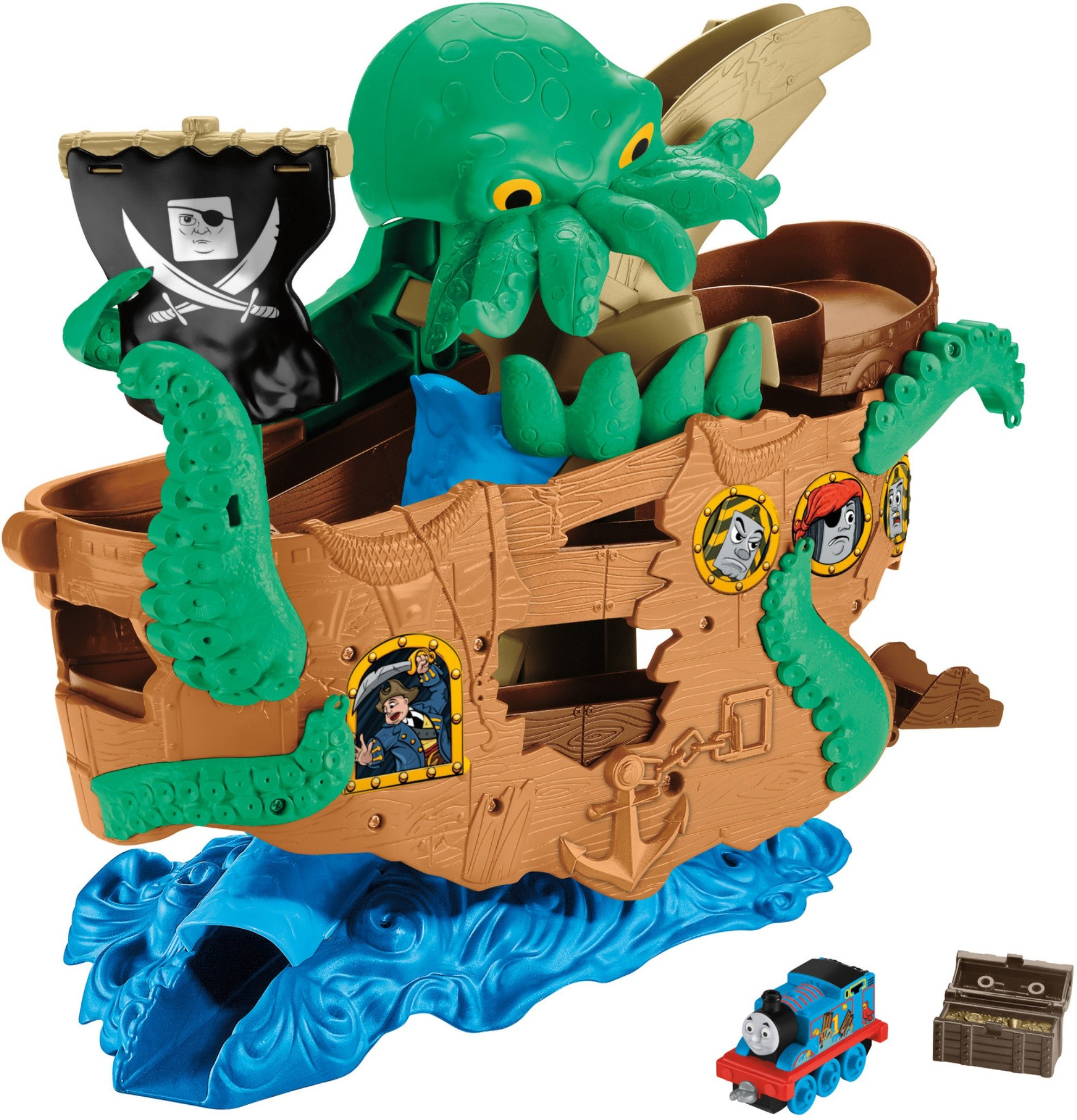 Thomas & Friends Fisher-Price Adventures, Sea Monster Pirate Set