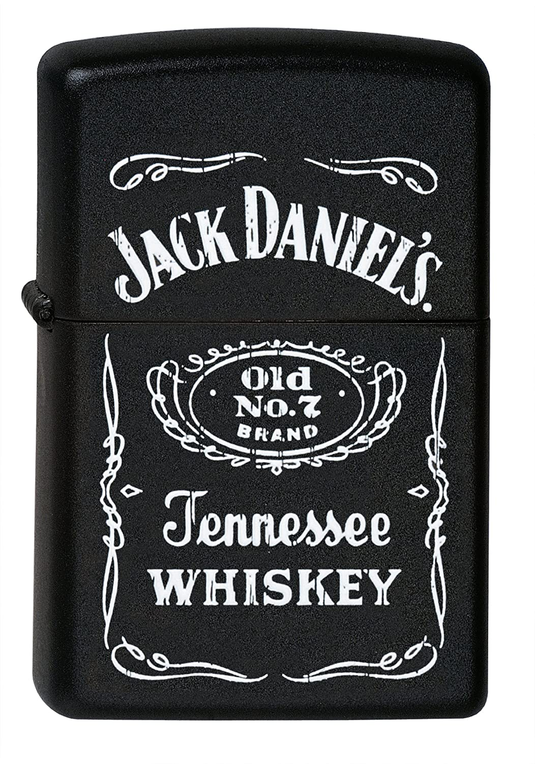 Zippo Lighter Jack Daniels Old No 7 Brand