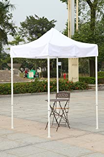 American Phoenix Canopy Tent 5x5 feet Party Tent [White Frame] Gazebo Canopy Commercial Fair : white pop up tent walmart - memphite.com