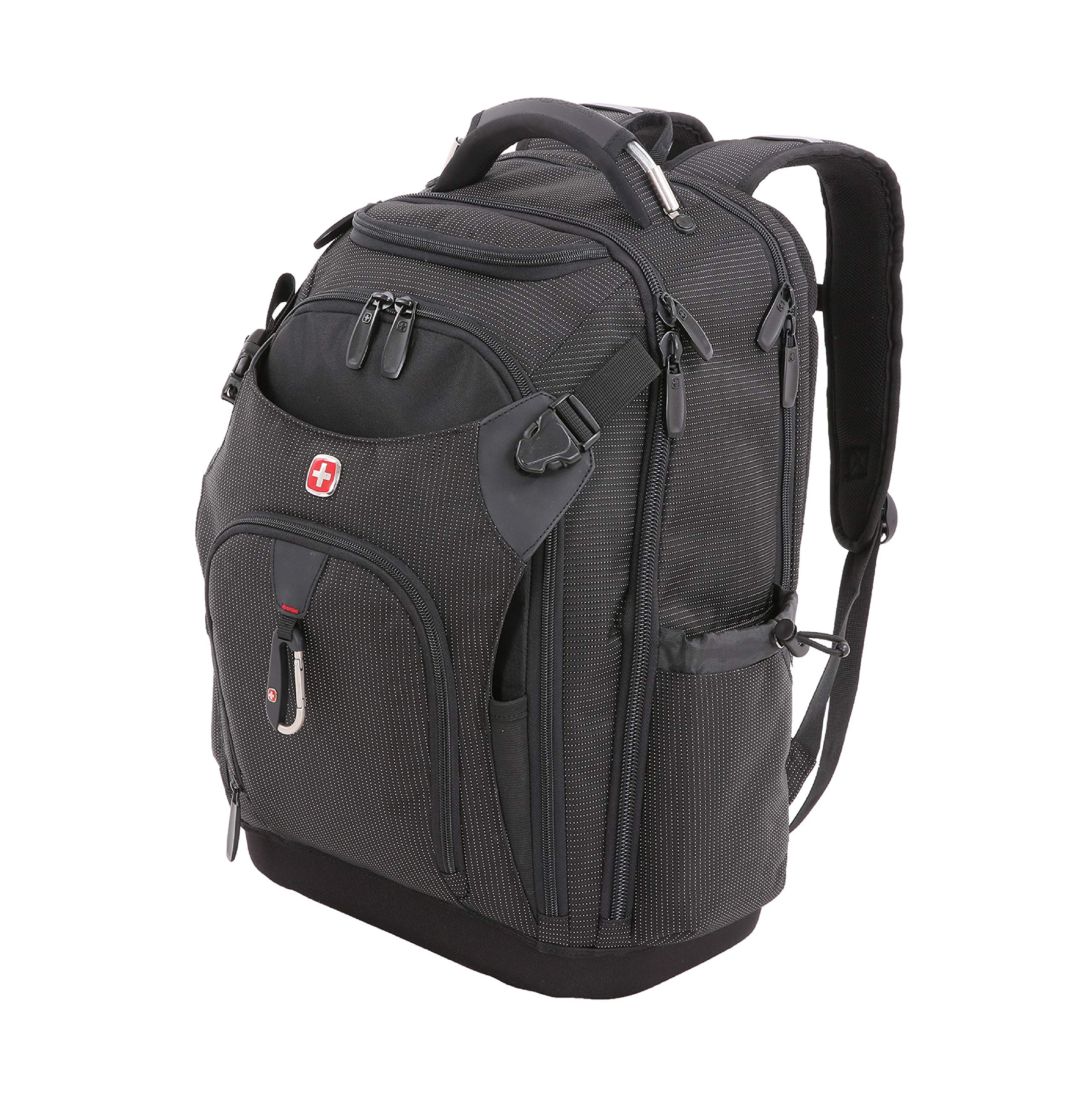 SWISSGEAR Work Pack Pro Ultimate Tool Protection Organization Durable Laptop Backpack with built-in USB port by SwissGear