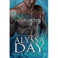 January in Atlantis: A Poseidon's Warrior paranormal romance (Poseidon's Warriors Book 1)