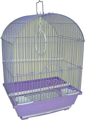 YML Purple Round Top Style Parakeet Cage