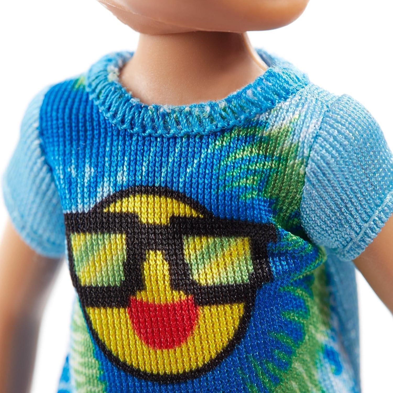 Emoji Tie Die Mattel FRL83 Barbie Club Chelsea Boy Doll