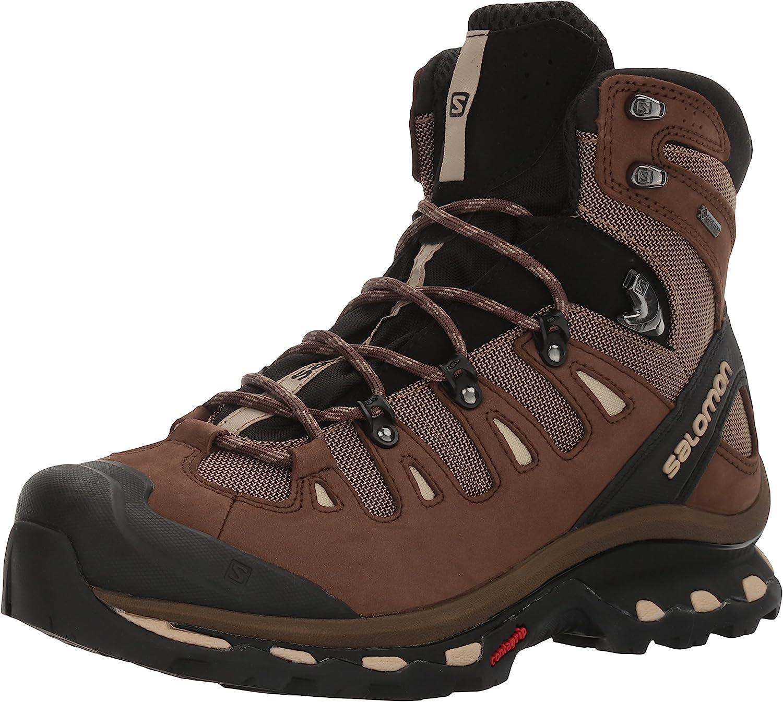 Salomon Men s Quest 4D 2 GTX Lightweight Durable Leather Canvas Hiking Boots