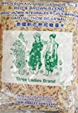 5 Pounds Three Ladies Brand Whole Grain Pure Jasmine Rice Red & Brown Blend (One Bag)