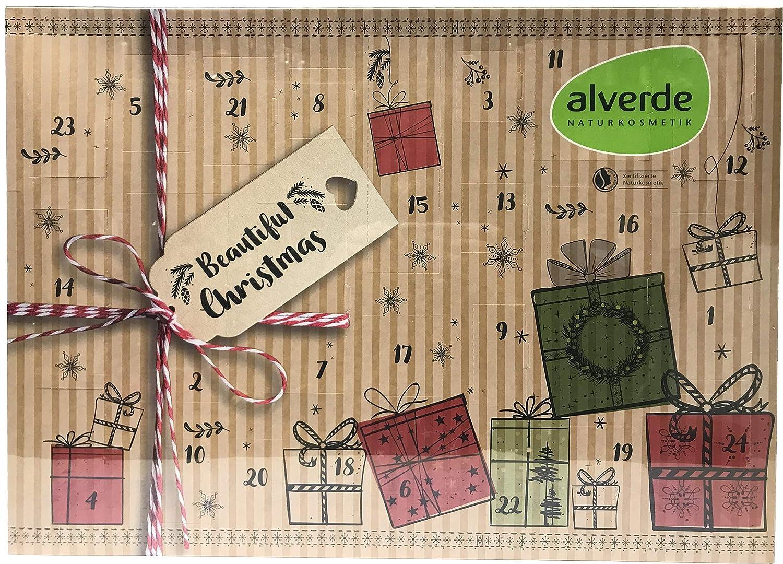 Alverde Naturkosmetik – Calendario dell'Avvento 2018 – Beautiful Christmas – Natura – cosmetici – Beauty – Limitato.