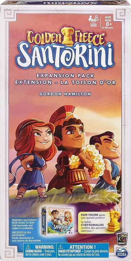 Spin Master Games 6040699 Santorini - Pack de extensión de vellón de Oro: Amazon.es: Juguetes y juegos