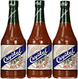 Crystal Hot Sauce Louisiana's Pure Hot Sauce - 12 oz (Pack of 3)