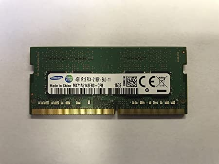 Samsung 4GB RAM DDR4 PC4-2133P (PC4 17000) Laptop Notebook Memory M471A5143EB0-CPB - OEM Internal Memory Card Readers at amazon
