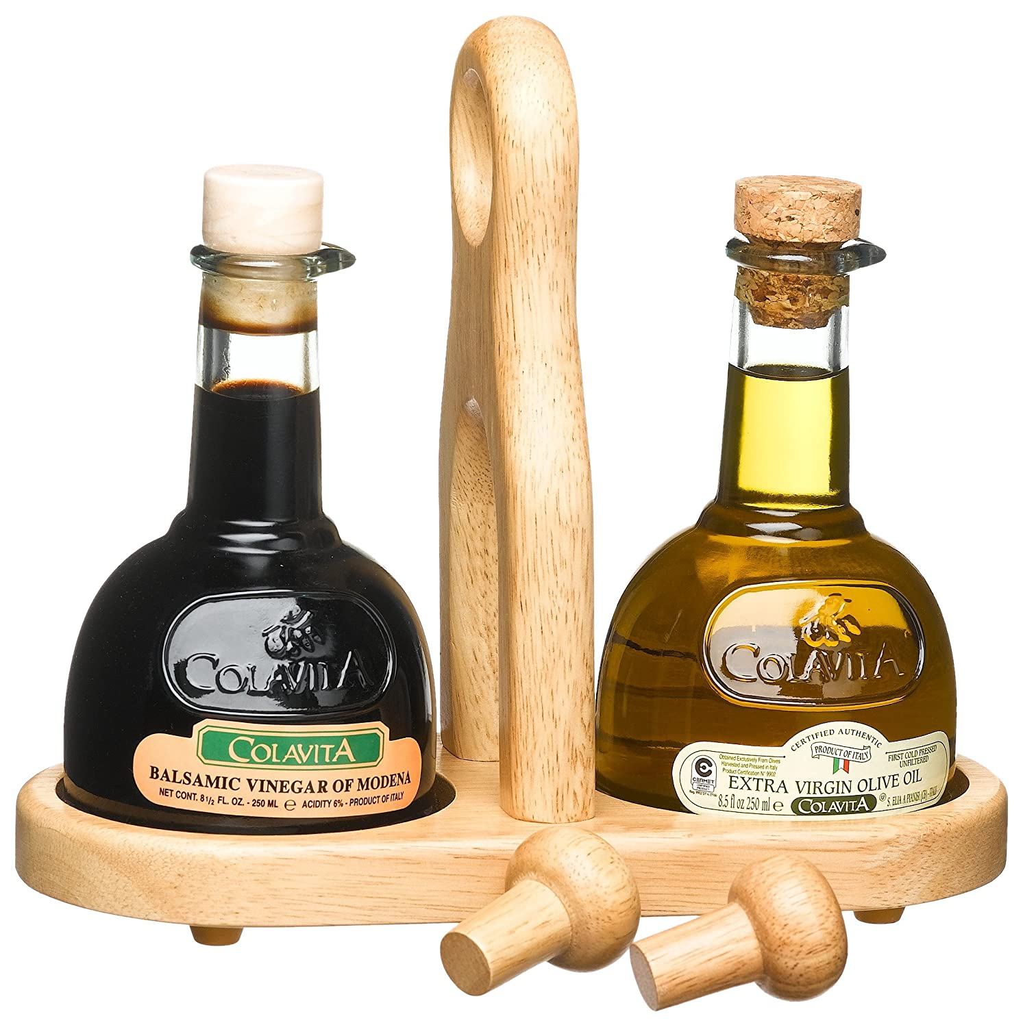 amazoncom  colavita extra virgin olive oil and balsamic vinegar  - amazoncom  colavita extra virgin olive oil and balsamic vinegar cruetsets (pack of )  grocery  gourmet food