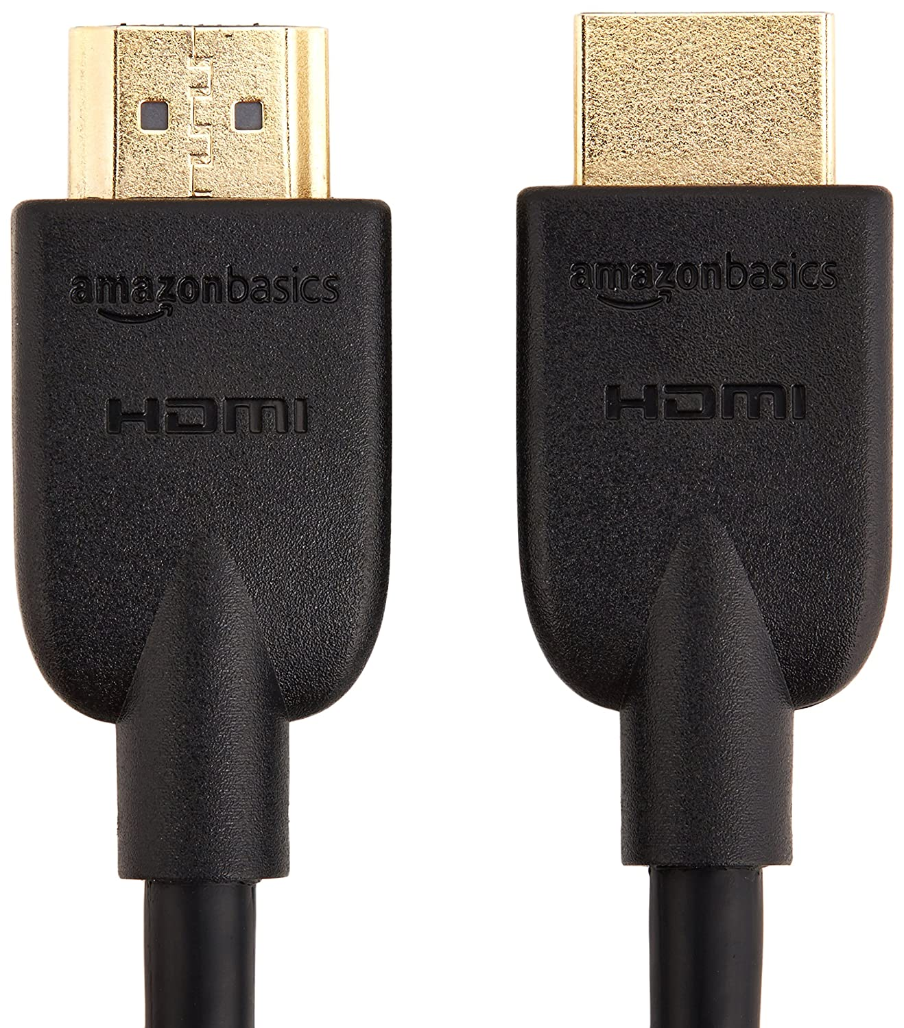 Amazon com amazonbasics high speed hdmi cable 6 feet 1 pack home audio theater