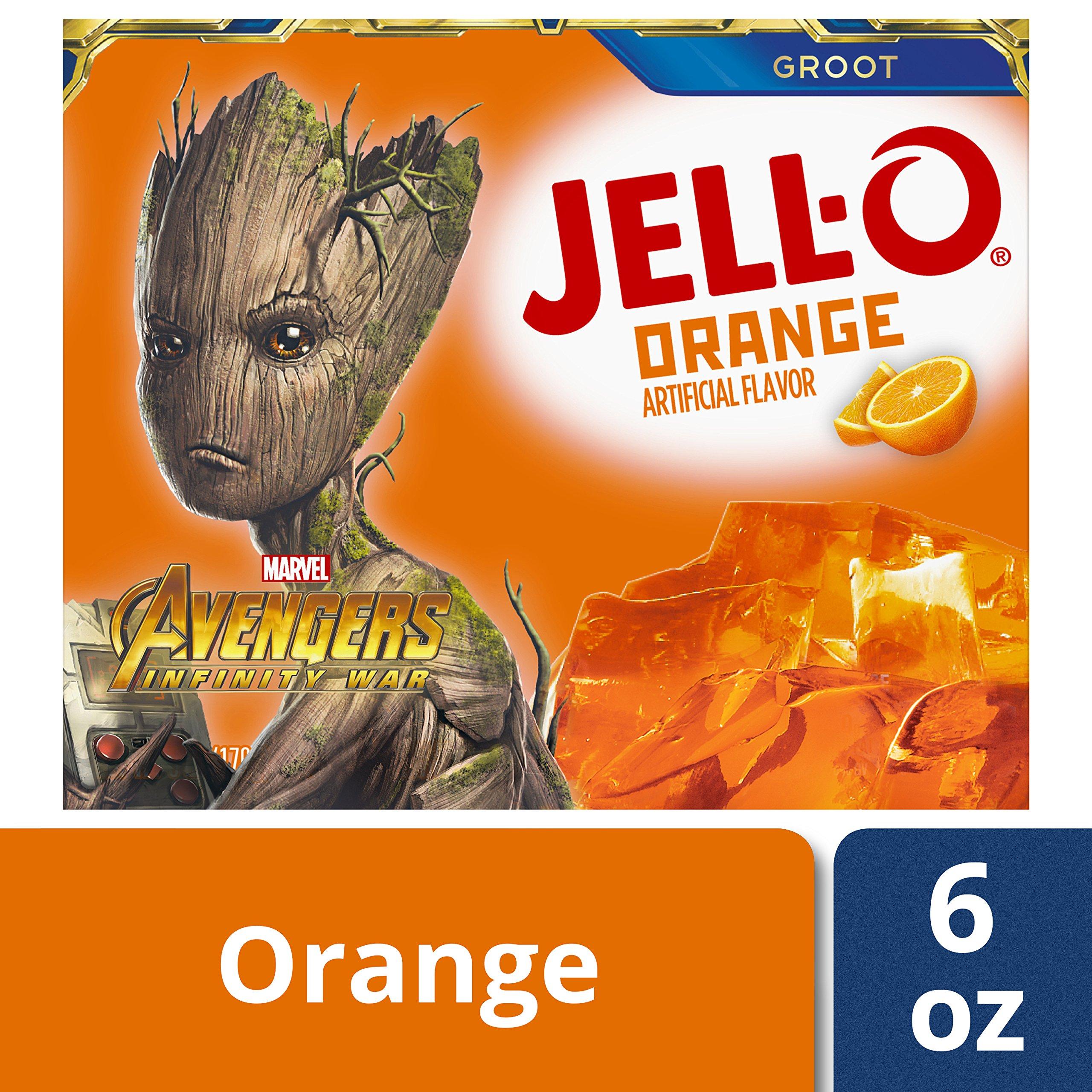 Jell-O Orange Gelatin Dessert Mix, 6 oz Box by Jell-O (Image #4)