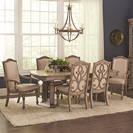 Amazon.com - Coaster Home Furnishings Ilana 7-Piece Dining ...