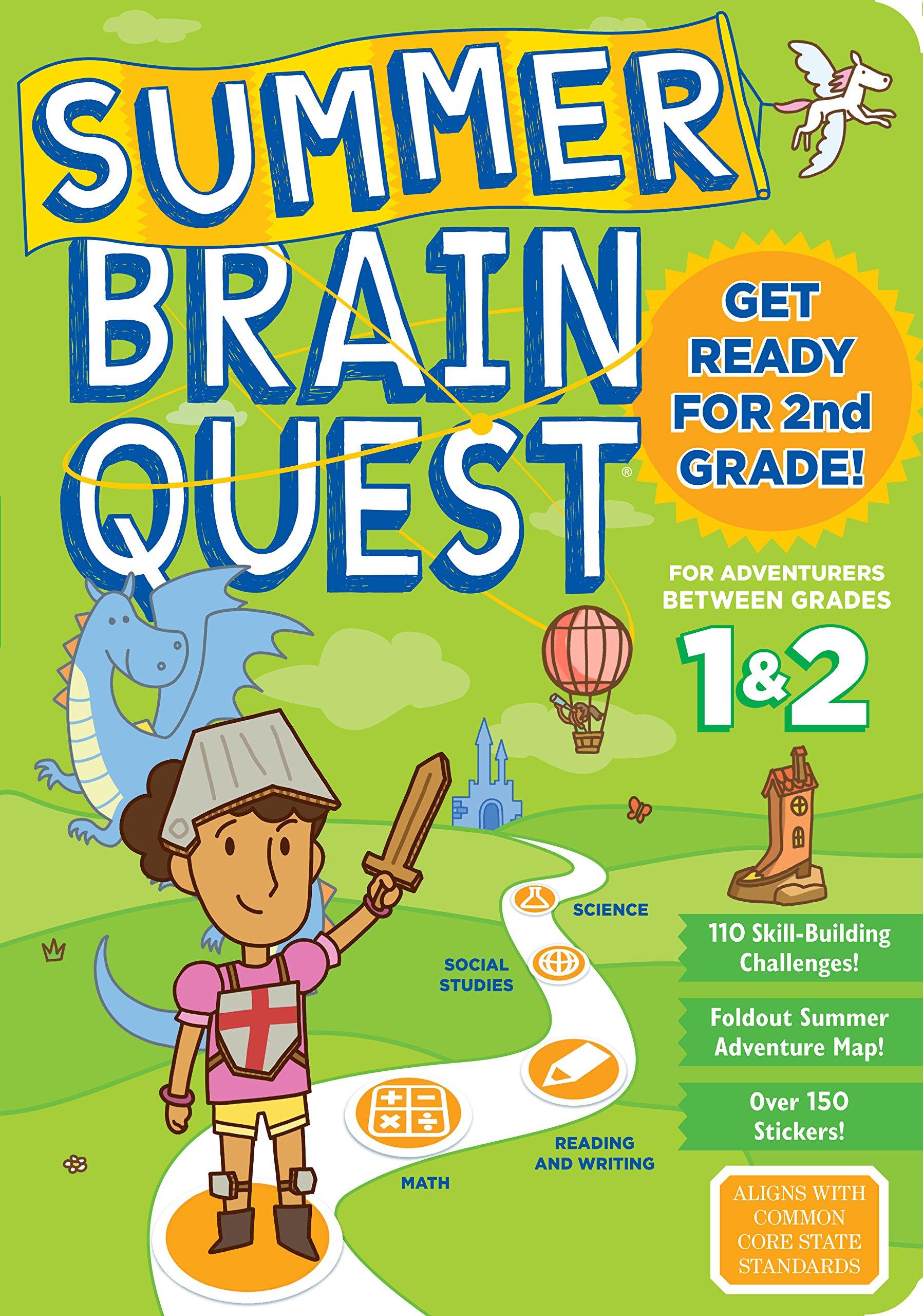 Summer Brain Quest: Between Grades 1 & 2 by WORKMAN