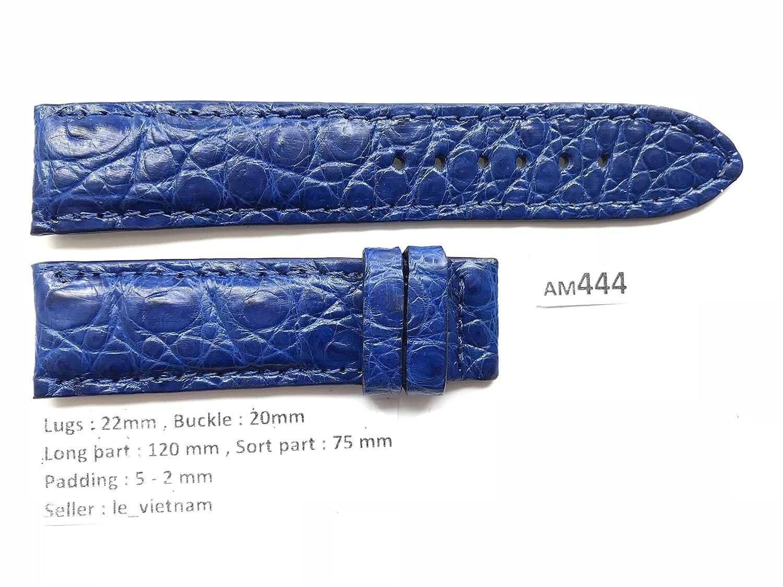 le_vietnam APPAREL メンズ US サイズ: 22mm /20mm カラー: ブルー  B0784WPZZK