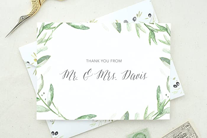 wedding thank you cards personalized shower thank you cards wedding stationery thank you