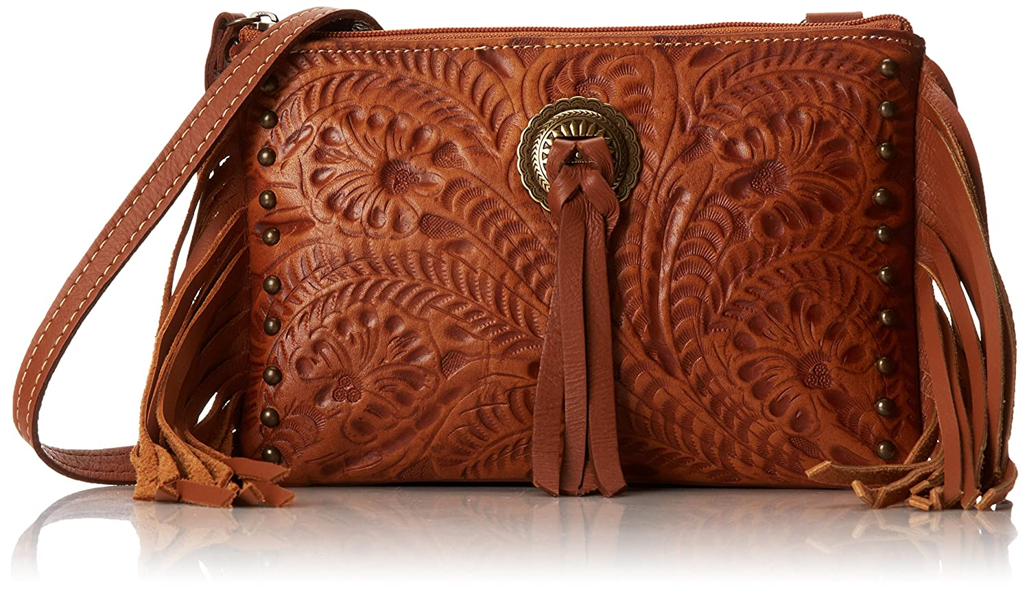 American West Honky Tonk Days Fringe Cross Body Bag
