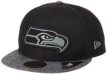 NFL Seattle Seahawks Gris colección 59 Fifty Gorra: Amazon.es ...