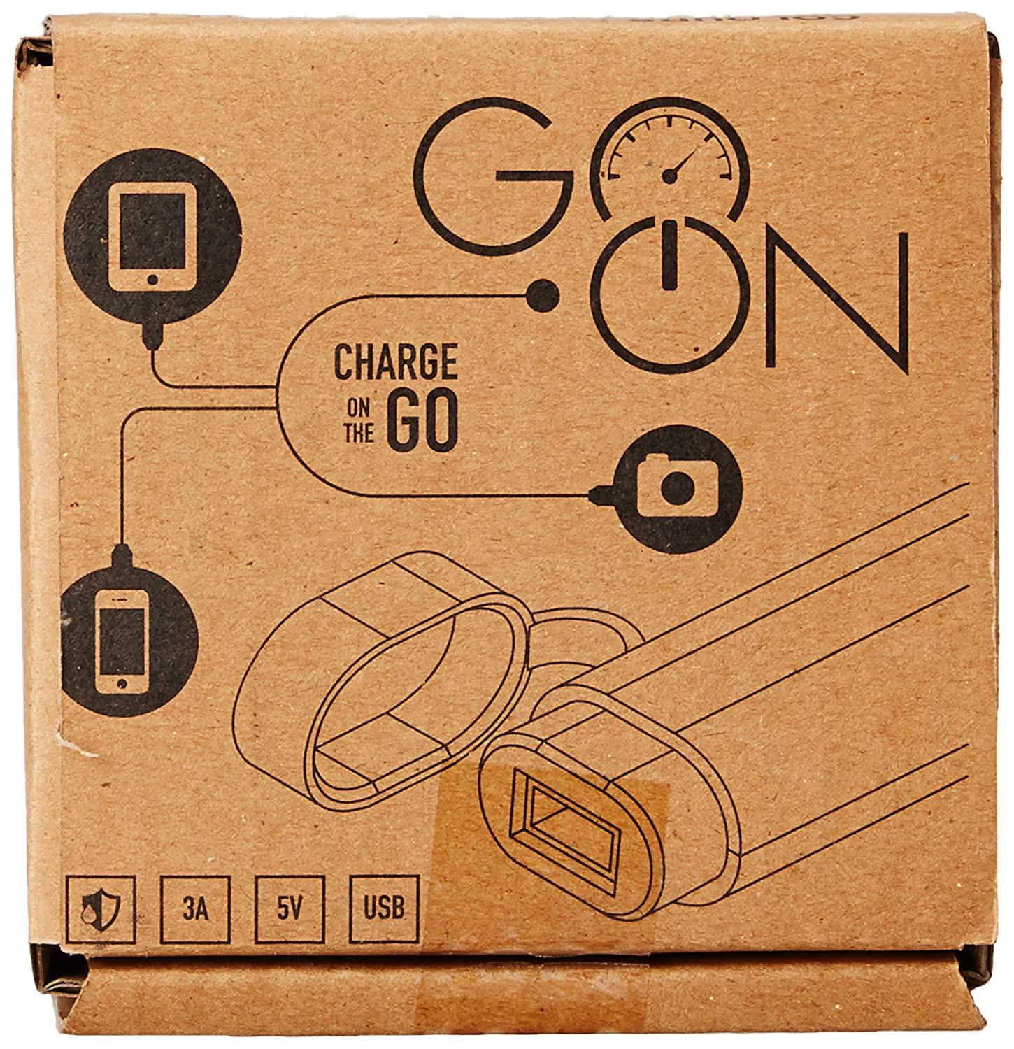 Cingularity Cg 102 Go On G1 Usb Mobile Charger For Bikes And Circuit Diagram Scooters Black Car Motorbike