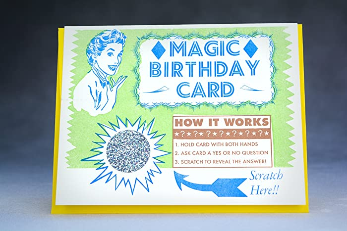Amazon Magic Birthday Card Handmade