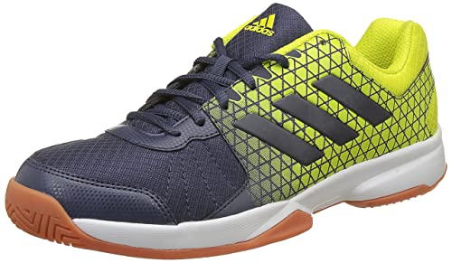 quality design 17627 80d27 Adidas Mens Net Nuts Indoor TrabluShosli Indoor Multisport Court Shoes  (12-UK