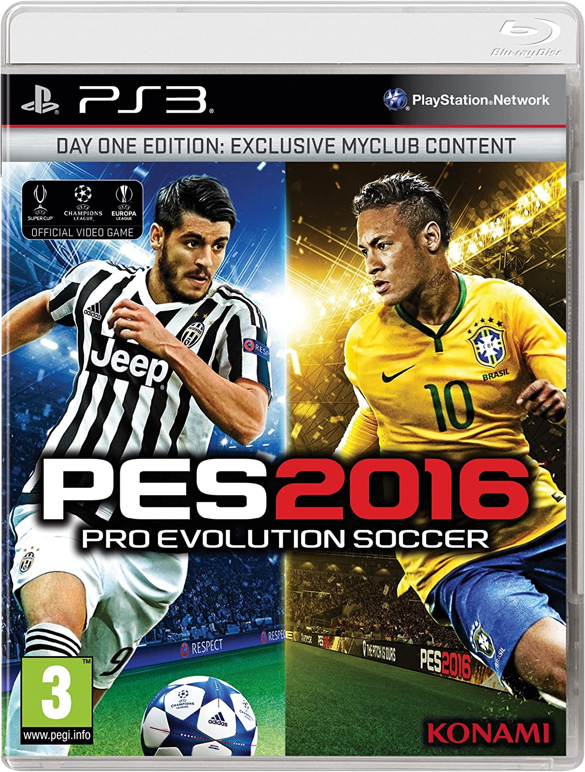 Konami Pro Evolution Soccer 2016 Day One Edition, PS4 - Juego (PS4 ...