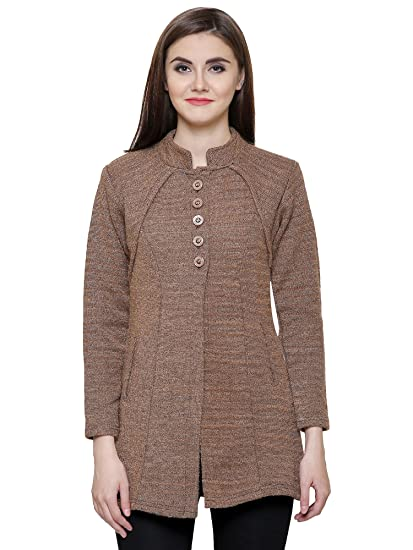 727e79d86e Matelco Women's Woollen Cardigan with Pockets for Winter: Amazon.in ...