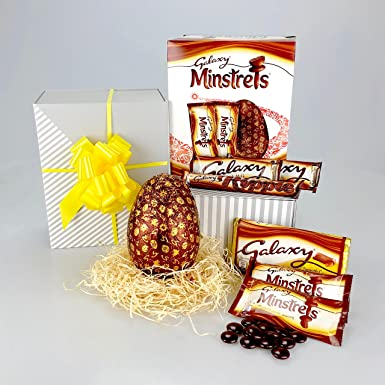 Happy galaxy easter deluxe chocolate hamper including easter deluxe chocolate hamper including easter egg rippleminstrels negle Choice Image