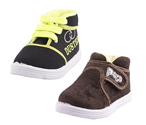 3ac839e8a50 Hot-X Baby Boy's Polyester Shoes,1-2 Years(Multicolour) - Combo of 6:  Amazon.in: Shoes & Handbags