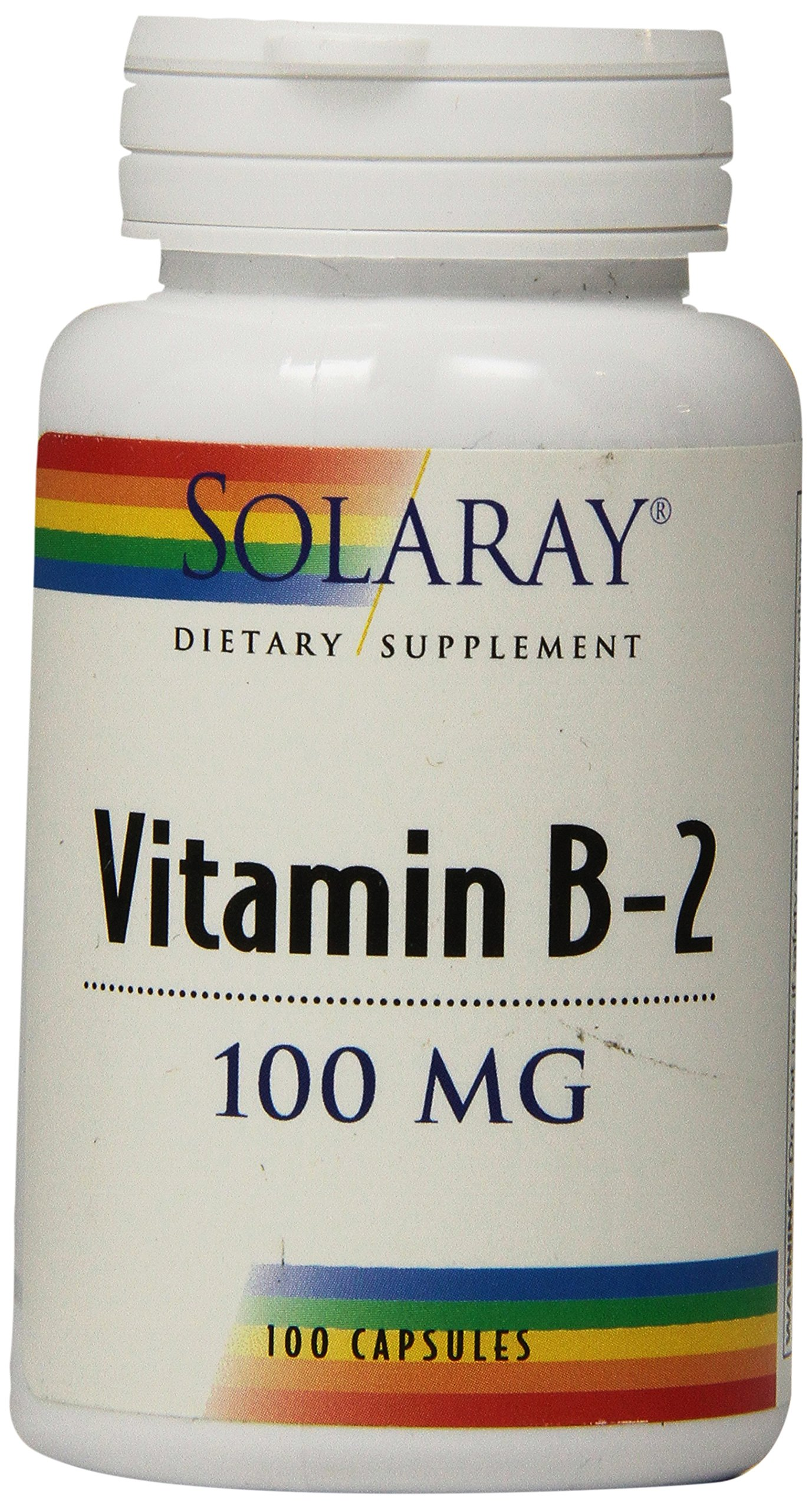 Solaray B-2 Supplement, 100 mg, 100 Count