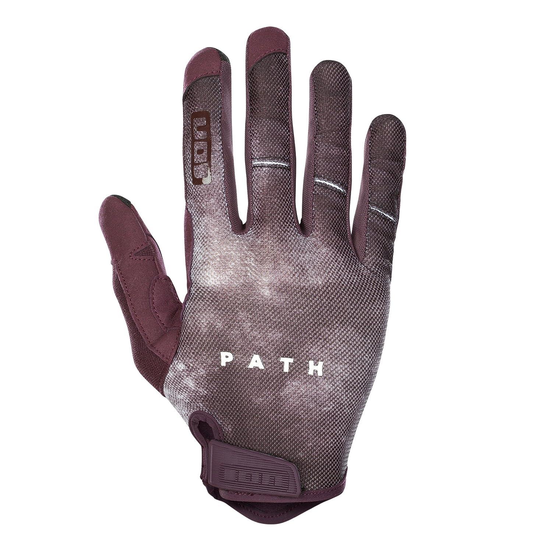 Ion Path MX DH FR Fahrrad Handschuhe lang grau 2018  Größe  XS