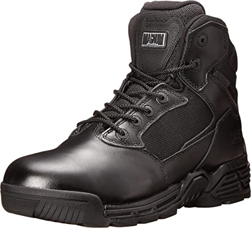 Great Price. Ladies Magnum Black Leather Lace Up Boots Stealth Force 6.0