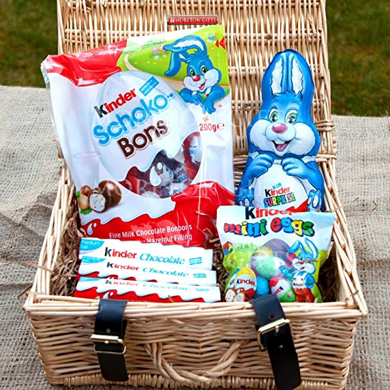 Kinder surprise easter small luxury hamper kinder bunny shoko kinder surprise easter small luxury hamper kinder bunny shoko bons chocolate bars negle Gallery