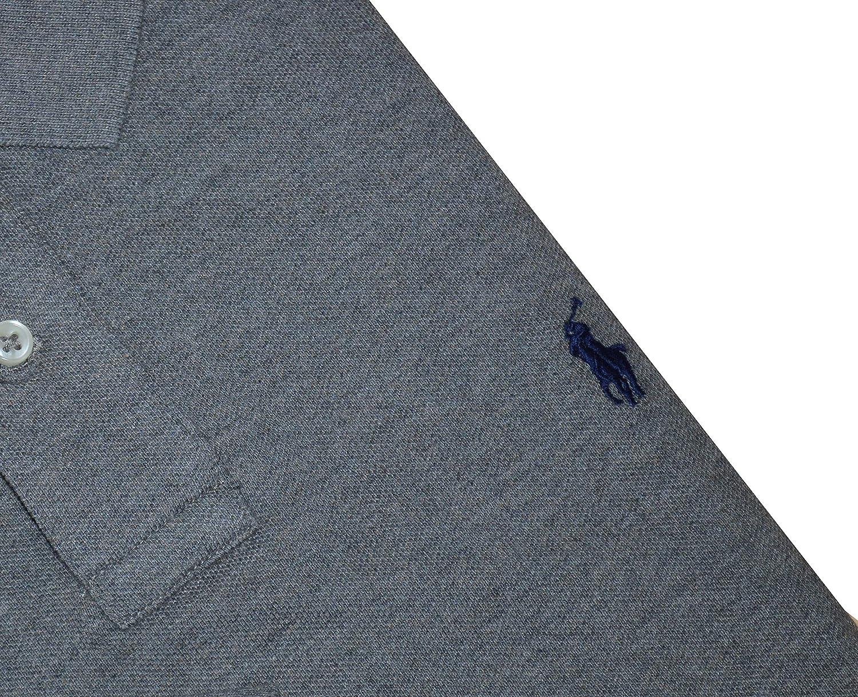 Mens Custom Slim Fit Mesh Long Sleeve Polo Shirt