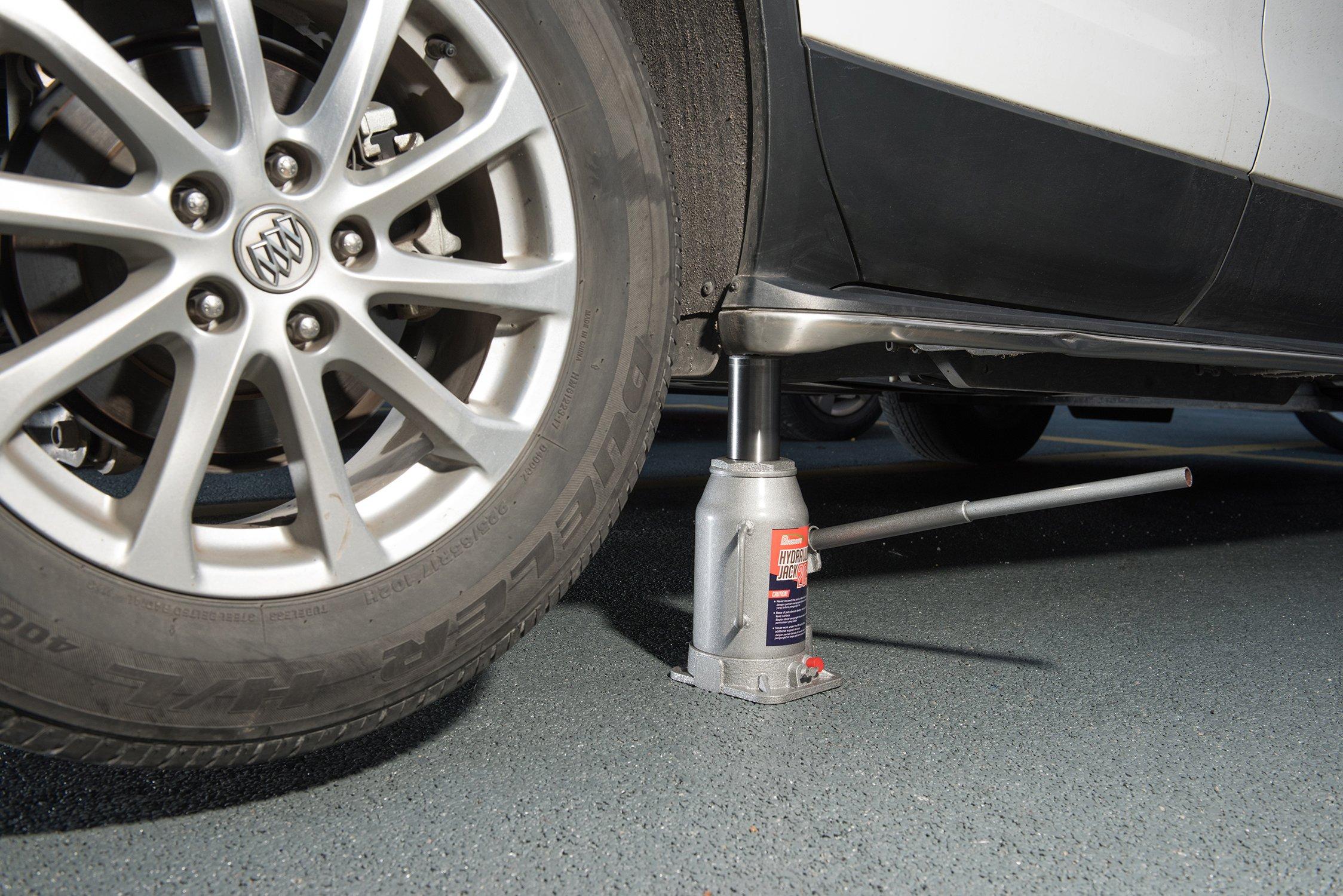 BAISHITE Hydraulic Bottle Jack 20 Ton Capacity Grey by BAISHITE (Image #5)