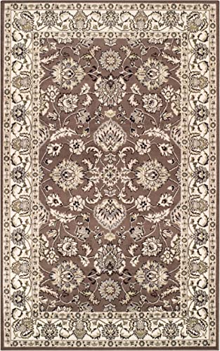 Superior Lille Area Rug, 4 x 6 , Brown